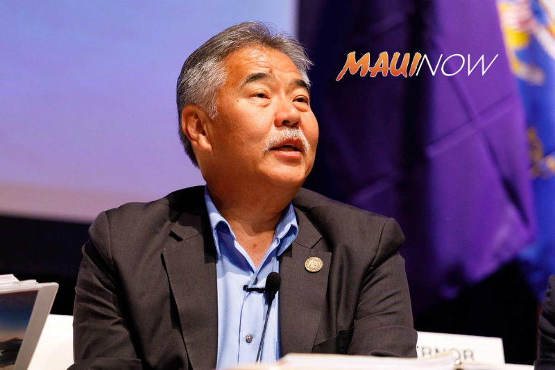 Ige to Participate in Hawai'i Energy Conference on Maui