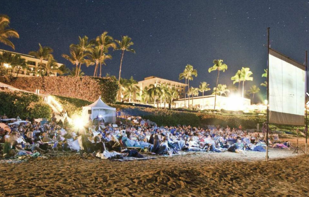 "2018 Maui Film Festival ""Toes in the Sand Cinema"""