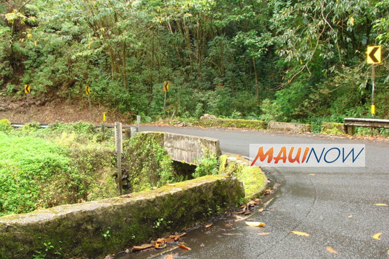 Maui Lane Closures for This Week