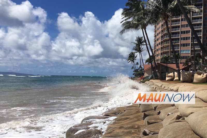 West Maui Beach Access Group Sues Condo Over Shoreline Construction