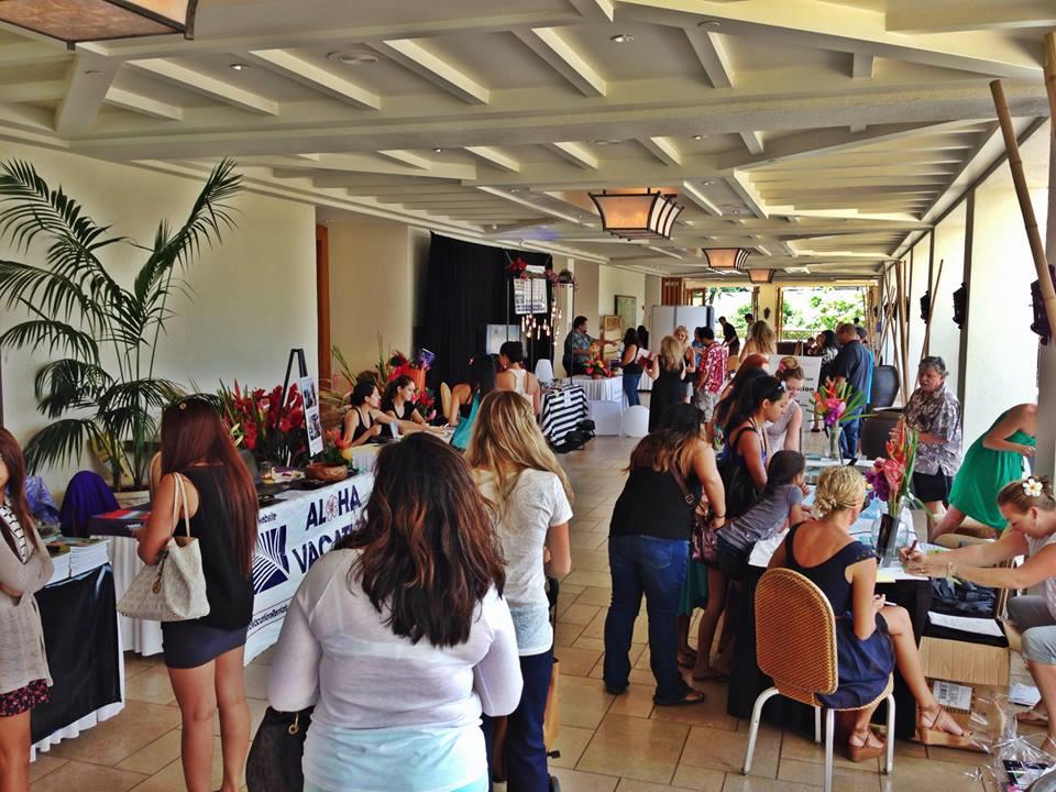 maui now 22nd annual maui wedding expo, aug 26 Wedding Expo Maui attendees at a previous wedding expo on maui photo courtesy wedding expo maui