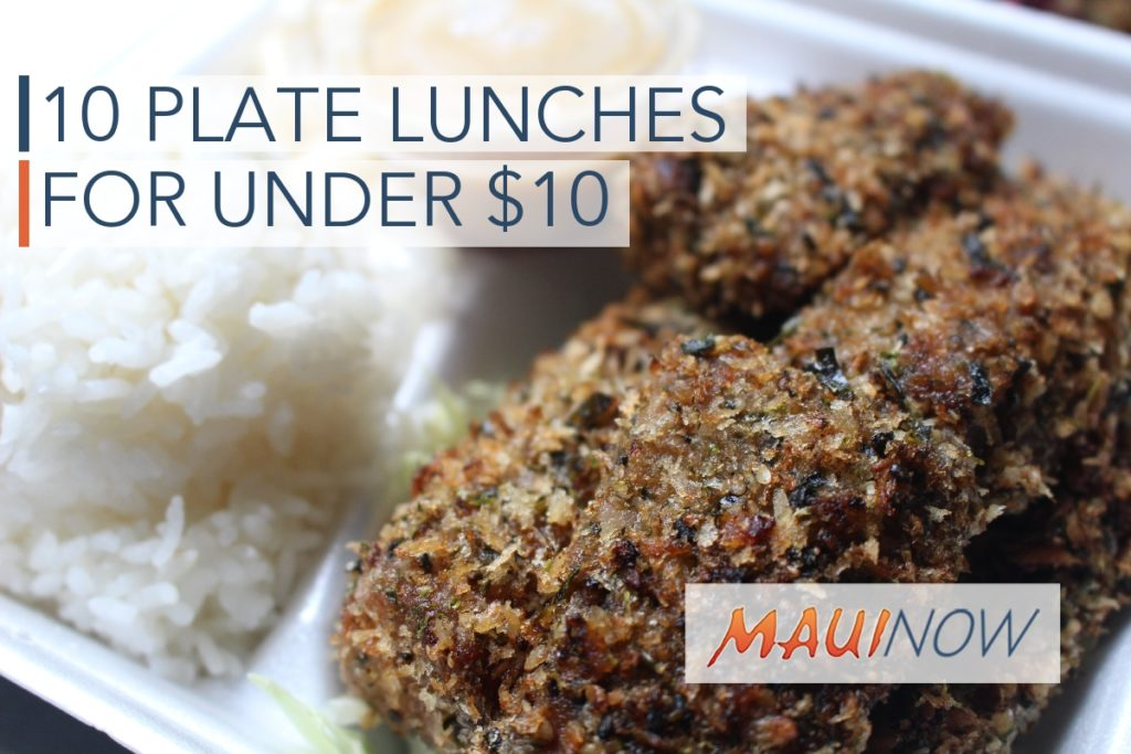 10 Places to Grab a Plate Lunch on Maui for Under $10