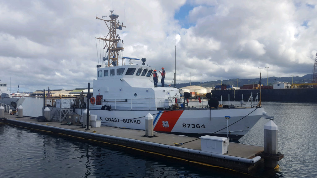 Coast Guard Suspends Search for Five Missing Soldiers off Hawaii