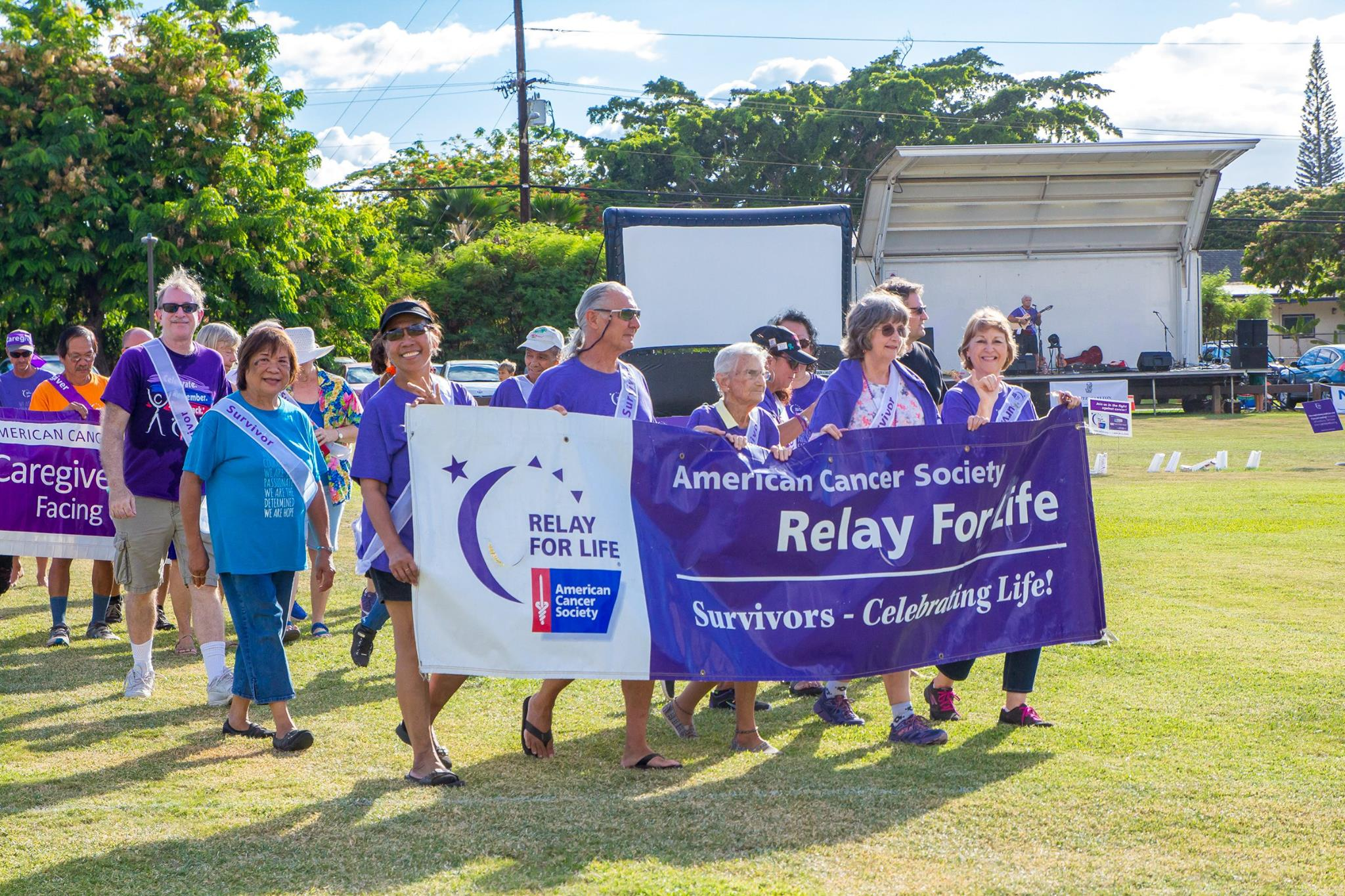 American Cancer Society Relay for Life, July 20