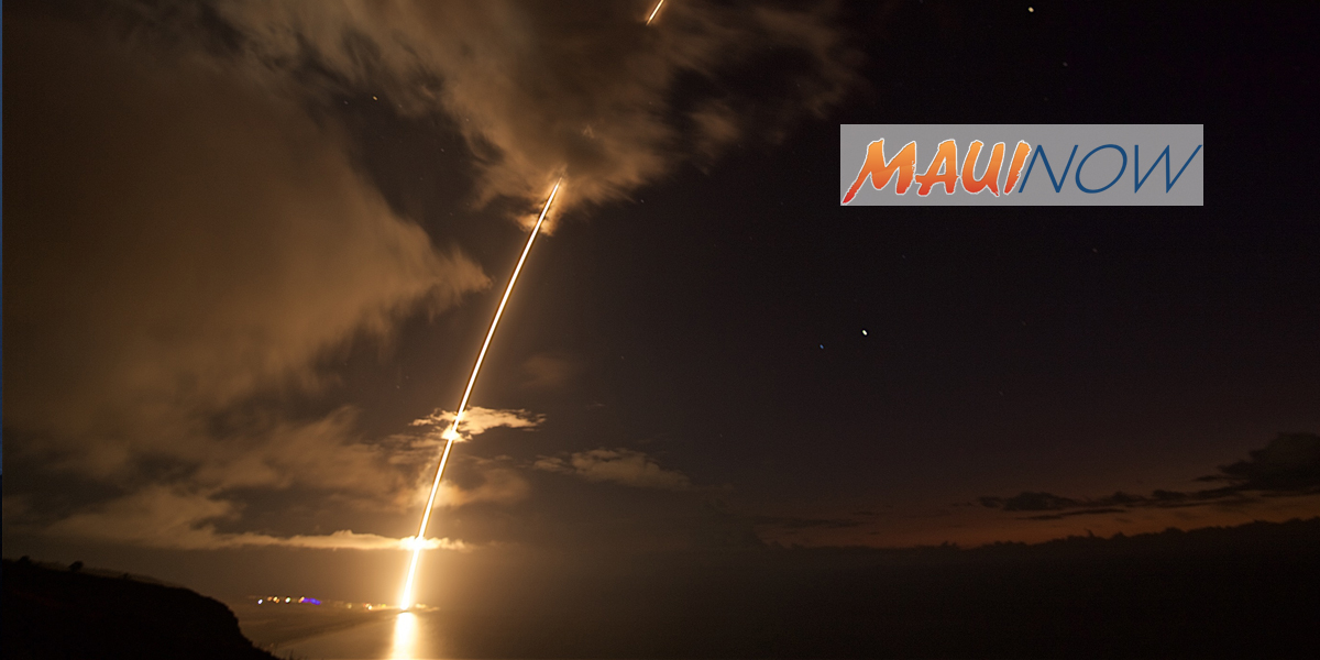 Ballistic Missile Defense Intercept Flight Test Off Kaua'i Deemed a Success