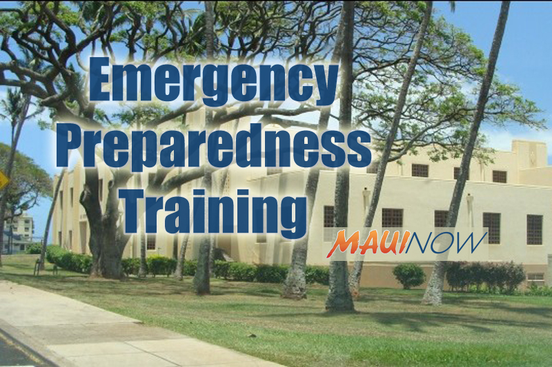 County to Offer Free Disaster Preparedness Training