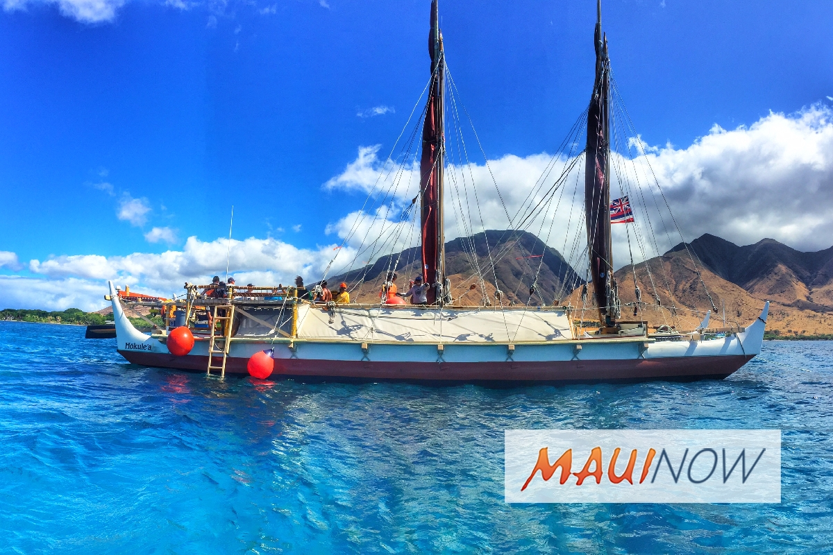 Hōkūle'a's Departure to Maui Delayed Due to Weather