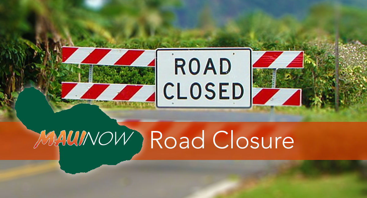 Plan Your Route: Maui Lane Closures Oct. 15–19
