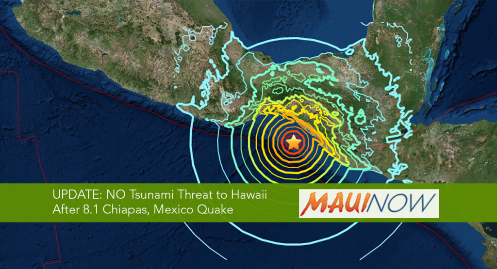 Magnitude 8 Earthquake Shakes Mexico City; Tsunami Possible