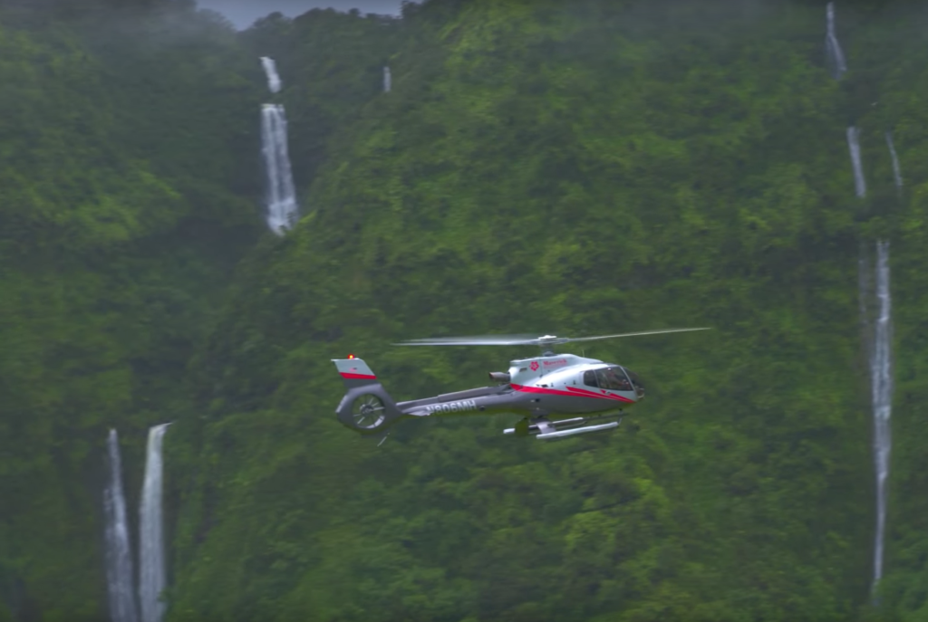 4 Stunning Maui Waterfalls From Air
