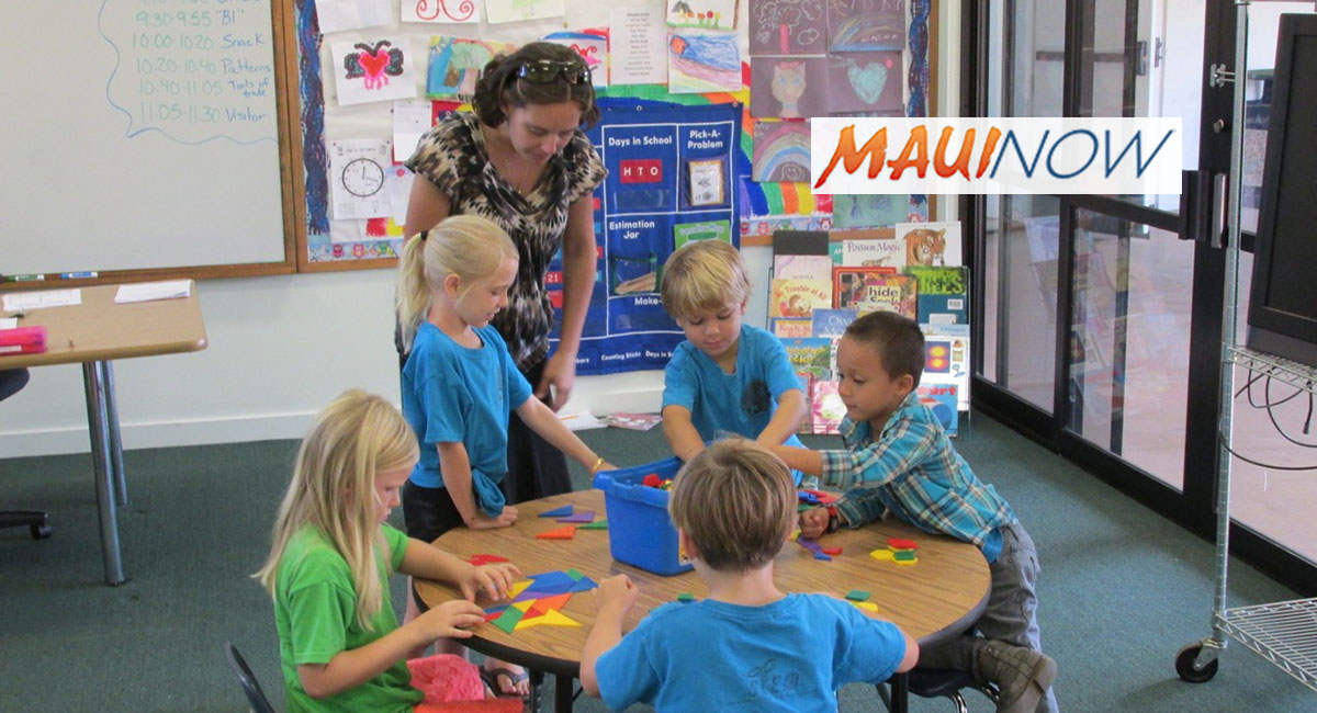 Kīhei Charter School 2018 Registration Schedule Begins March 7