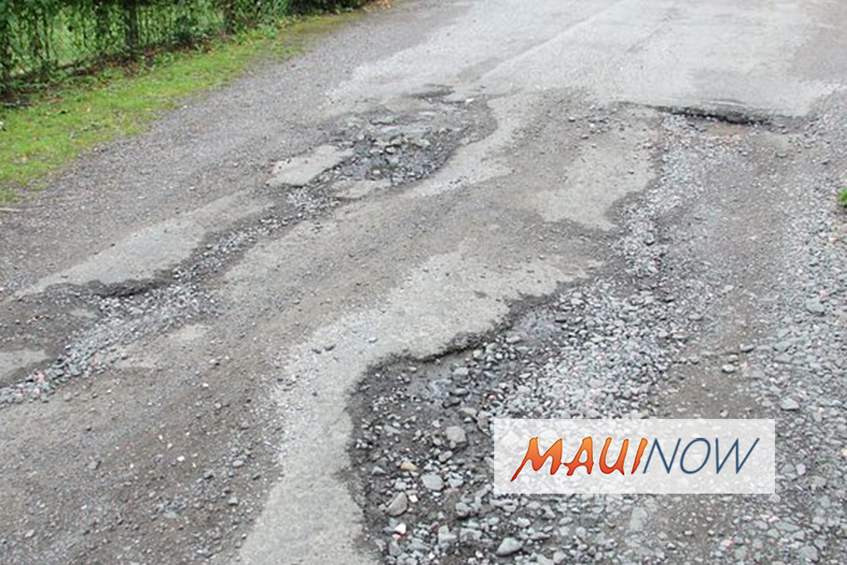 Priority Repairs to Fix Maui Potholes After Rain