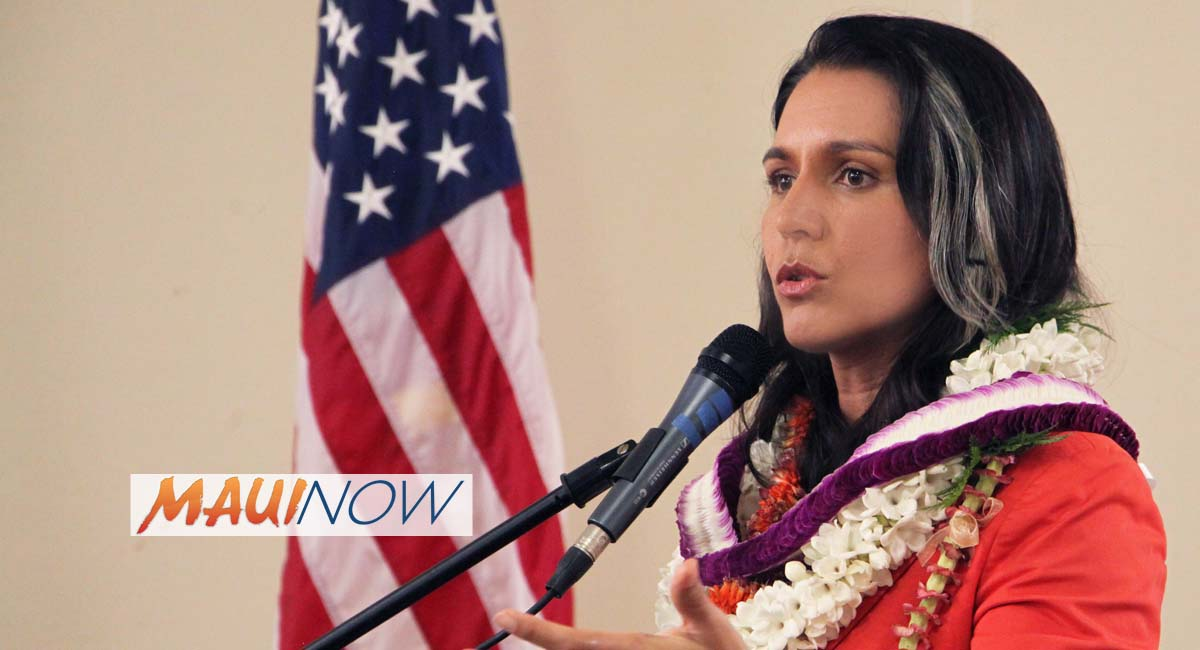 Rep. Gabbard Recognizes 50th Anniversary of Special Olympics