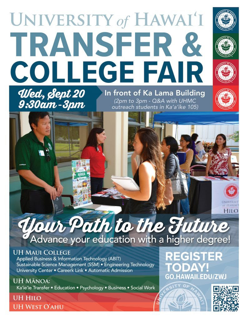 Uh Maui College >> Maui Now College And Job Fairs Planned At Uh Maui College