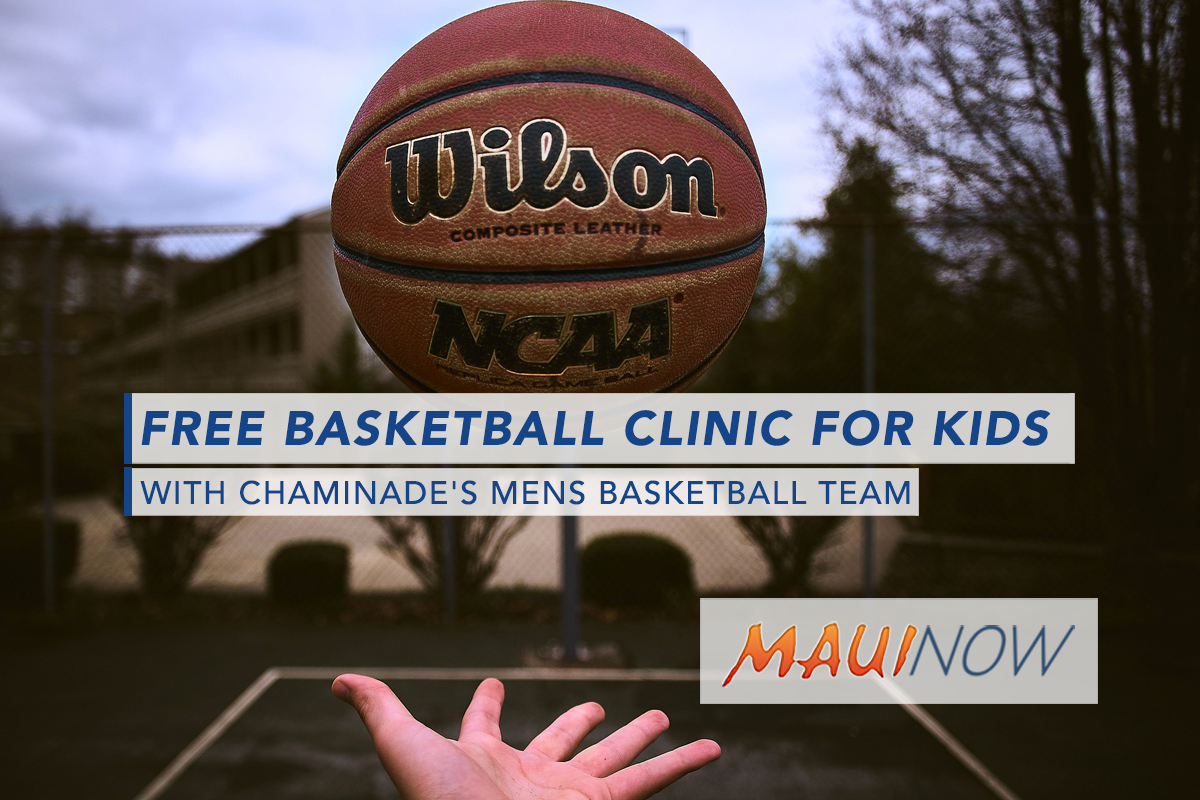 Maui Jim Maui Invitational Youth Basketball Clinic on Saturday