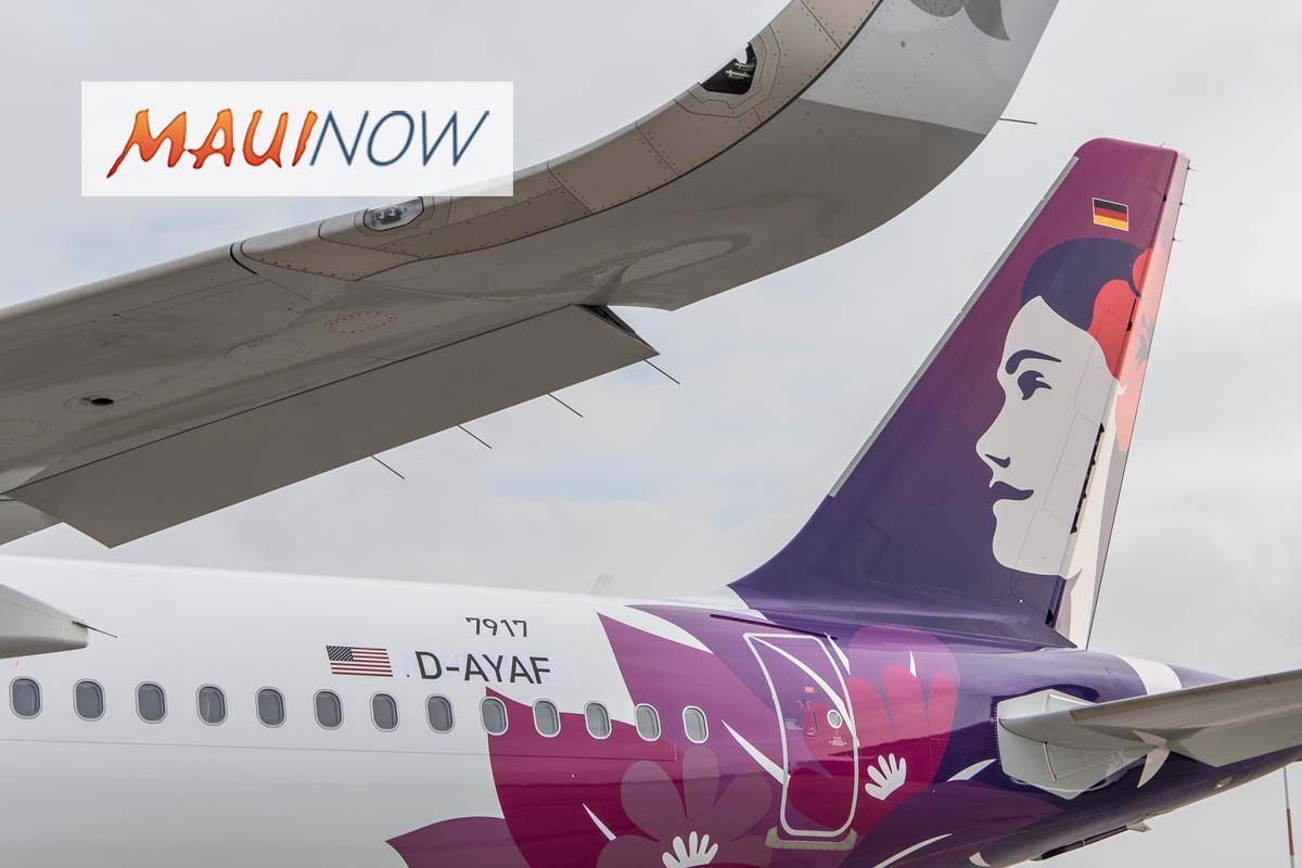 Hawaiian Airlines December, Fourth Quarter and Full Year 2019 Traffic Statistics