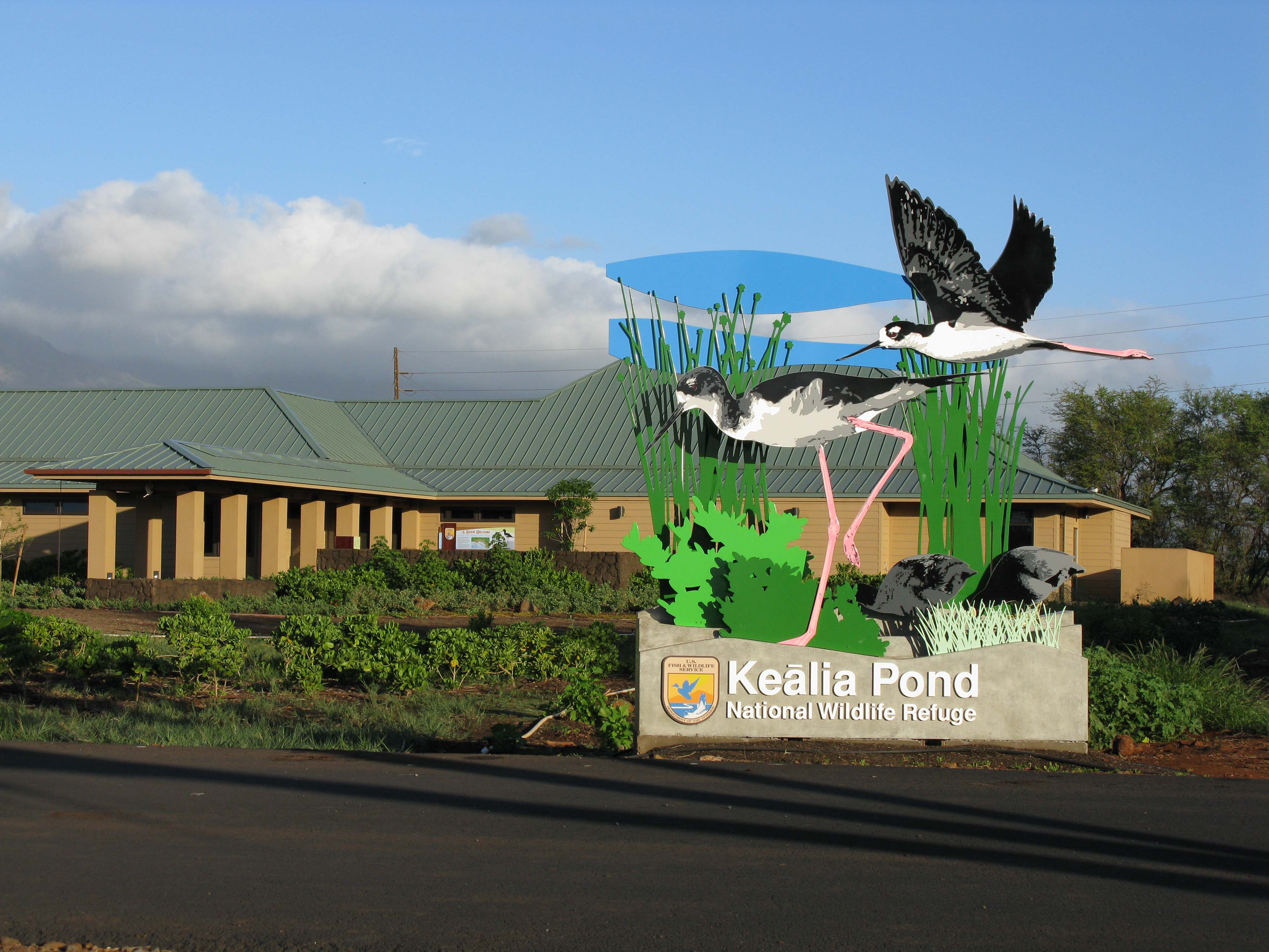 Keālia Pond National Wildlife Refuge Closed in Preparation for Lane