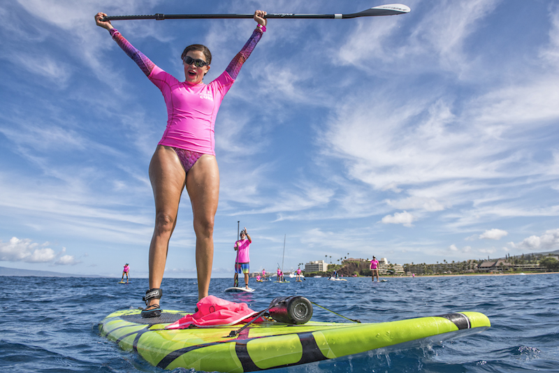 Maui's 5th Annual Paddle For A Cure, Oct. 13