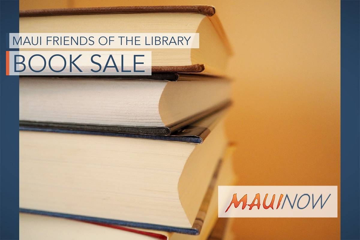 Friends of Hawaiʻi Library to Host Book Sale