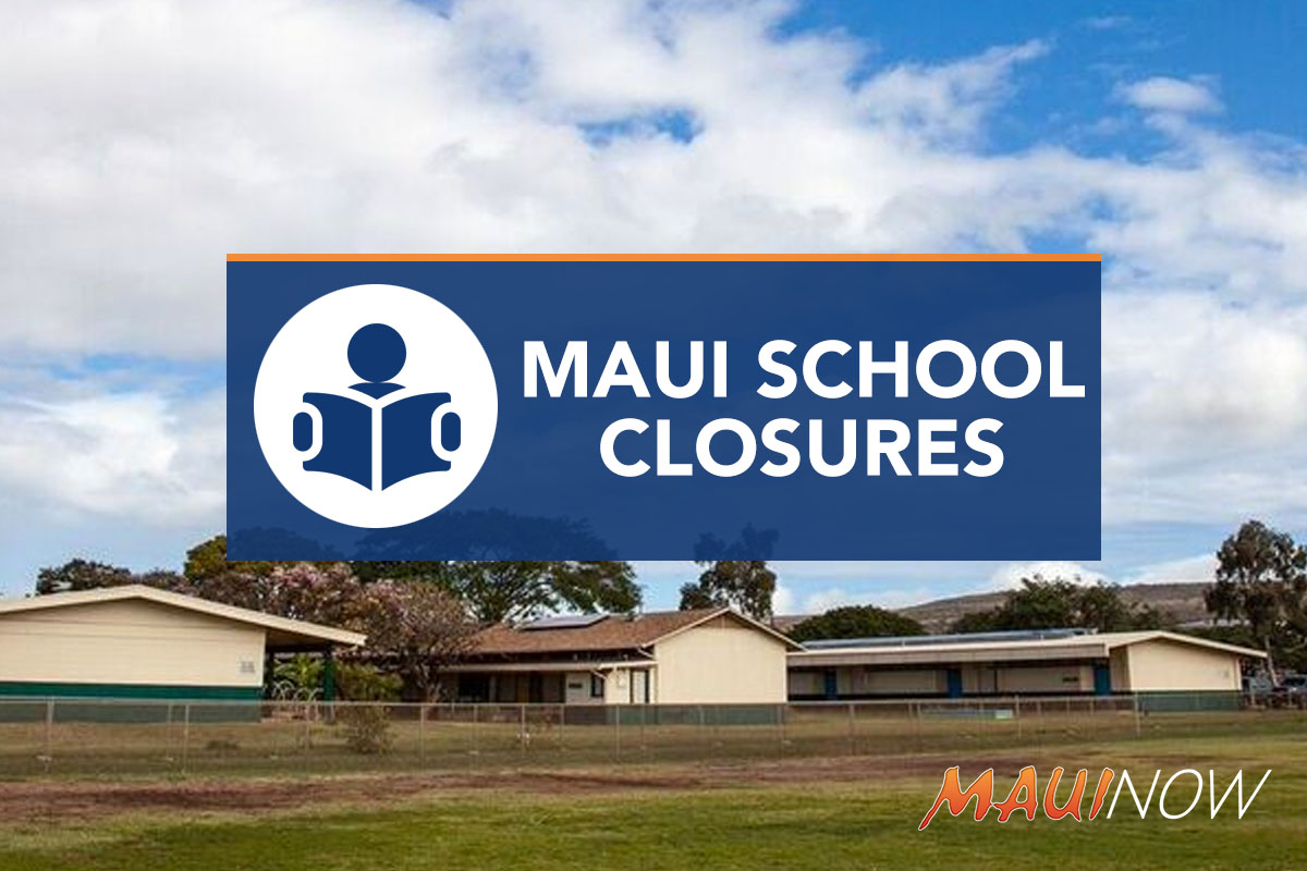Schools on Maui, Hawaii Island Closed Ahead of Hurricane Lane