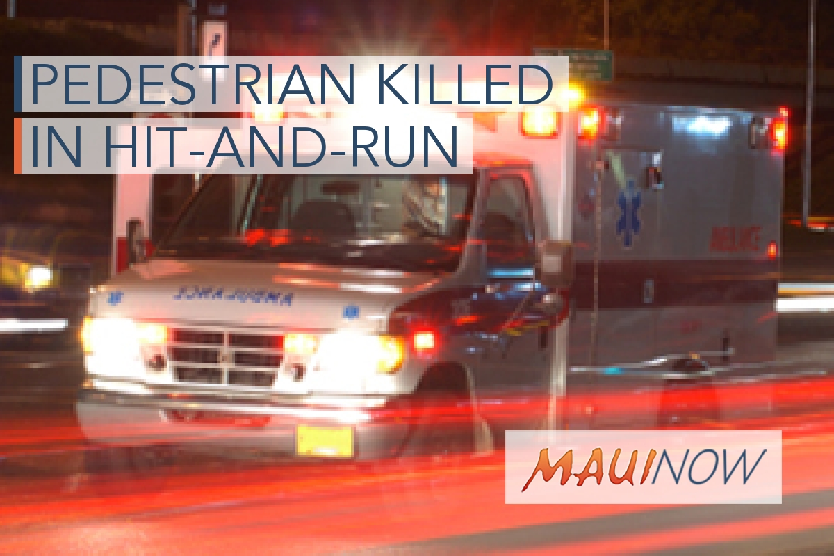 Driver Sought in Fatal Hit-And-Run Pedestrian Crash in Wailea, Maui