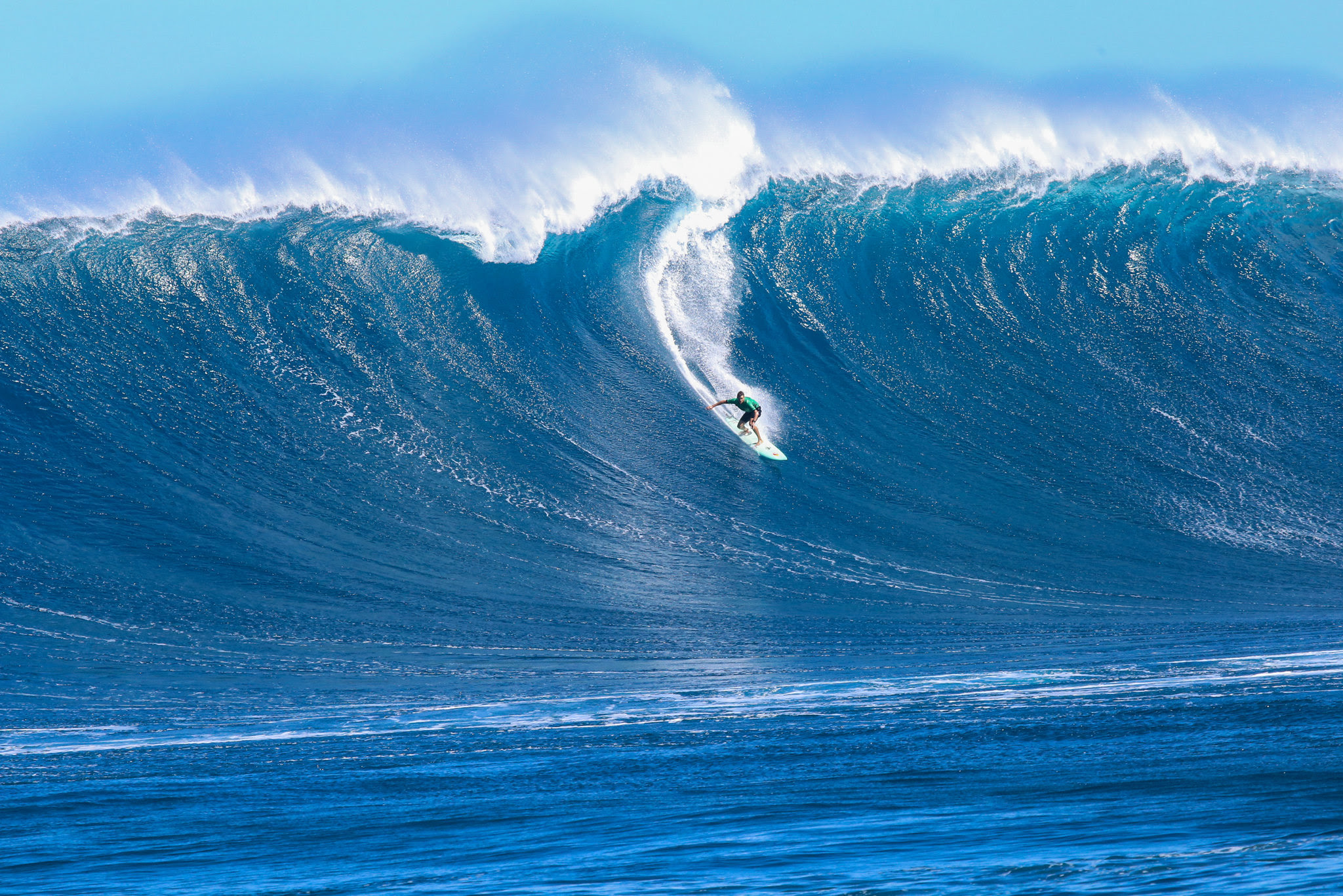 Maui's Big Wave Surfers Among WSL Award Finalists