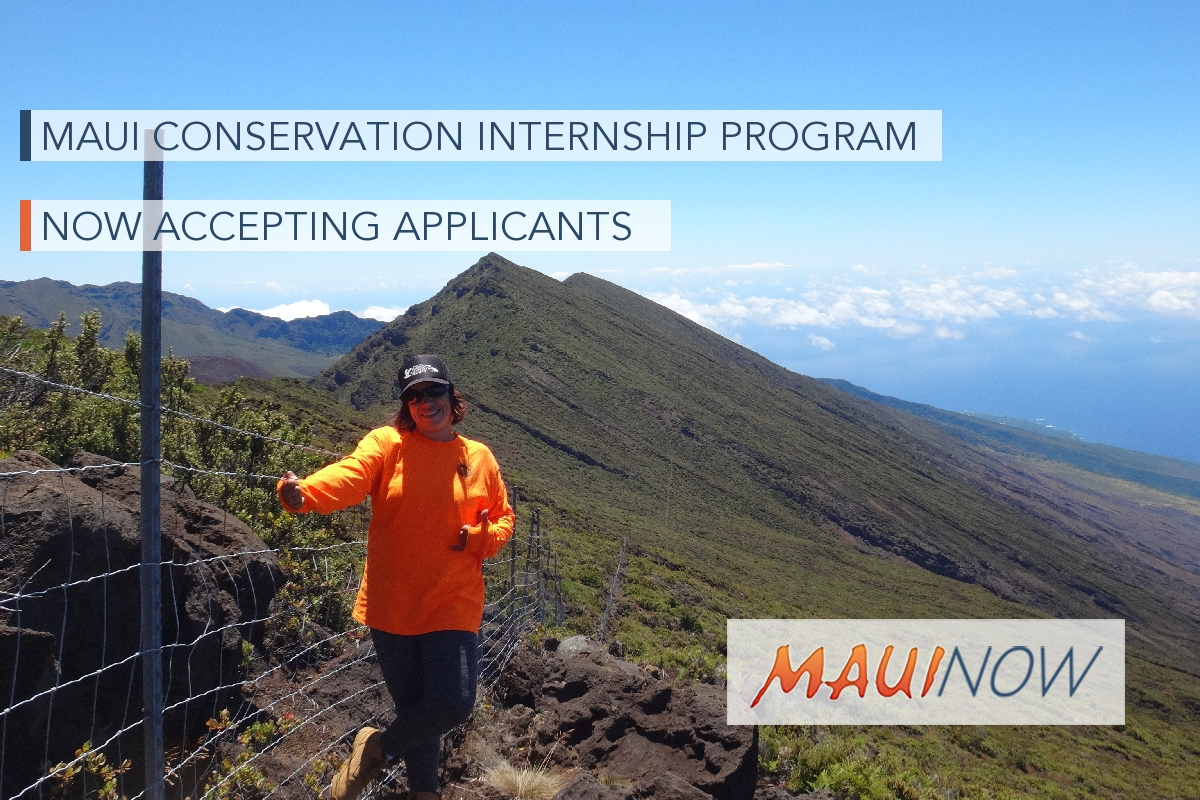 Applications Open for Maui Conservation Leadership Program