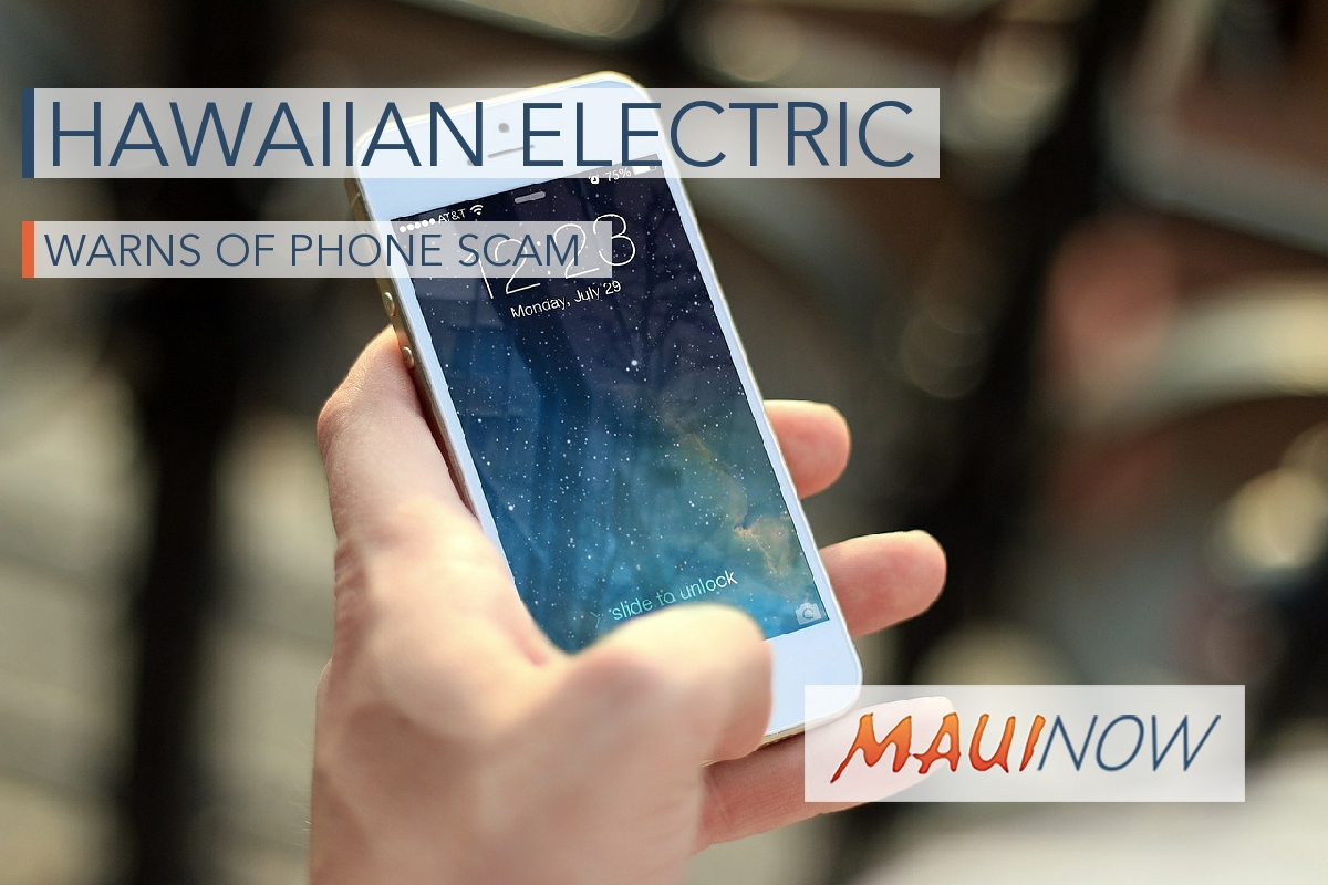 Hawaiian Electric Reports Surge in Scam Calls During Coronavirus Pandemic