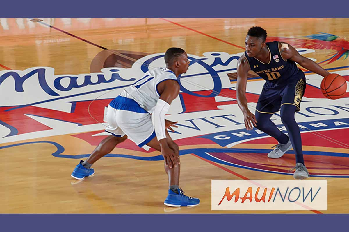 2018 Maui Jim Maui Invitational Generates $22M for Maui Economy