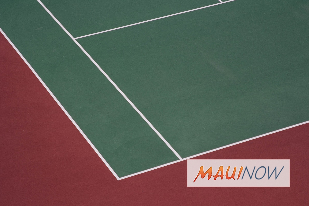 Fence Painting Project to Temporarily Close War Memorial Tennis Courts 1 and 2