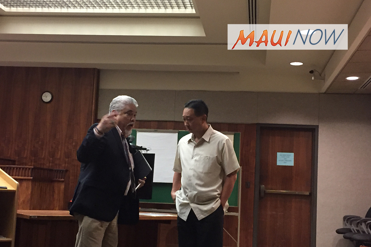 Former Maui Police Captain Sentenced to Probation