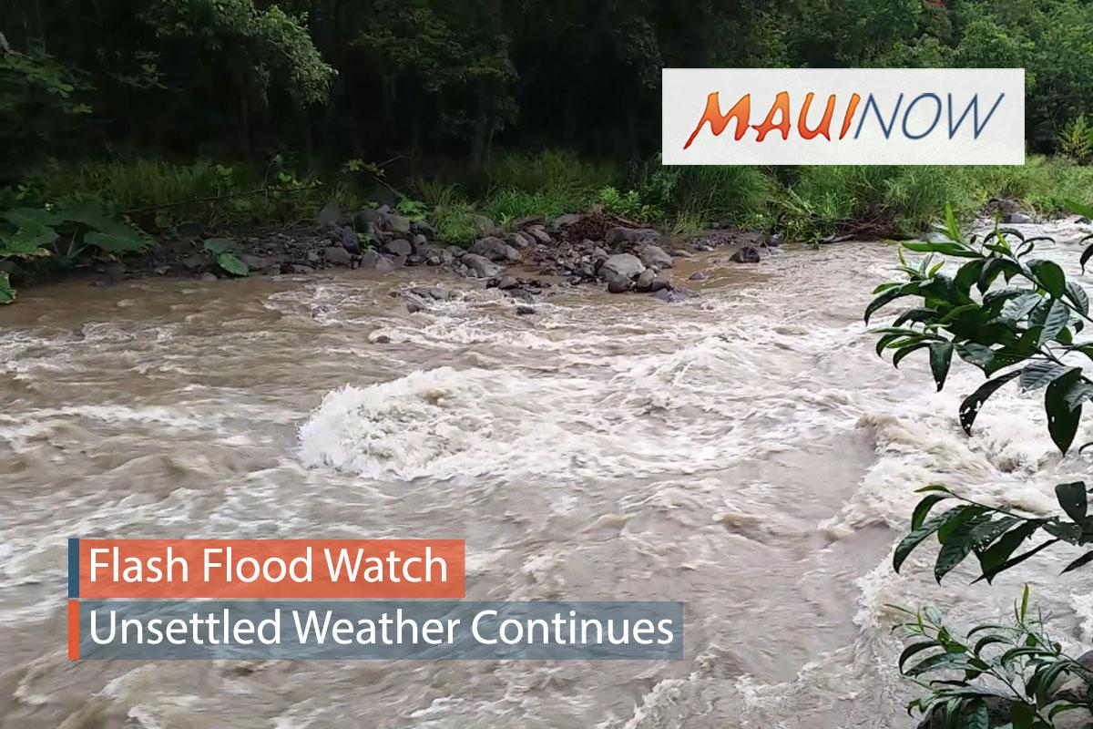 Maui Under Flood Watch Until Sunday Afternoon