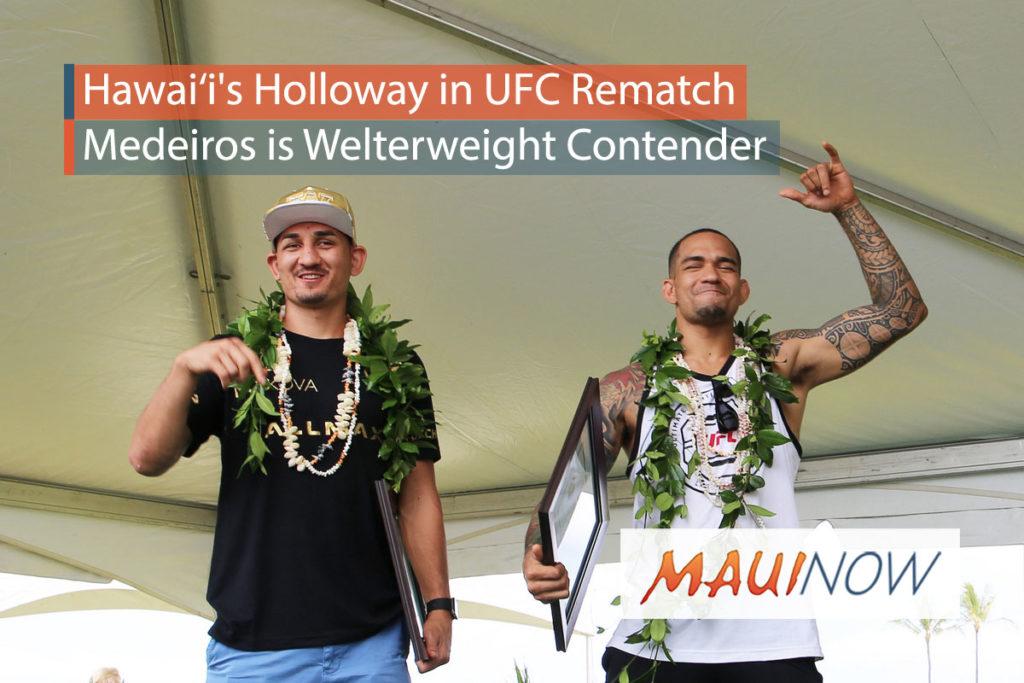 UFC 218 Ceremonial Weigh-Ins Live Tonight (Dec. 1) at 6 pm ET