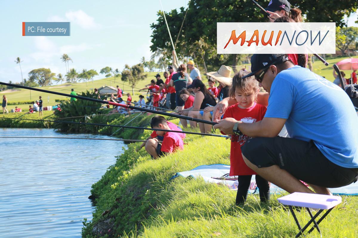 UPDATE - REGISTRATION FULL: 2018 Keiki Tilapia Fishing Tournament