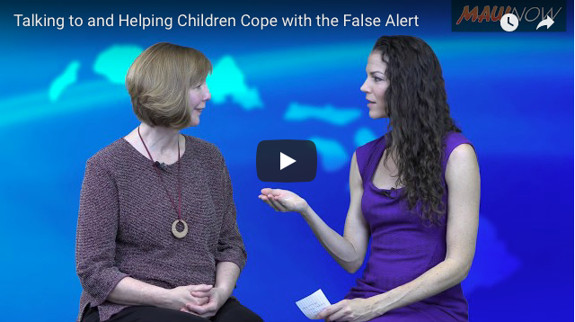 VIDEO: Talking to & Helping Children Cope with the False Alert