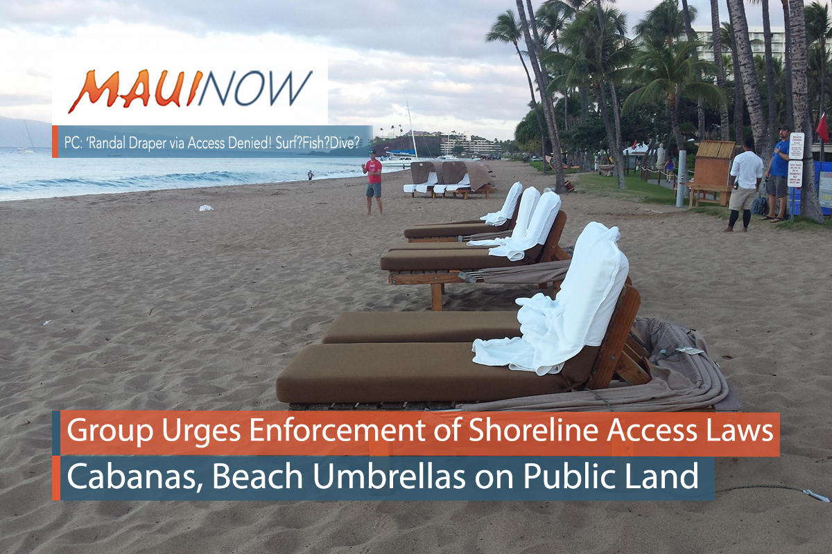 Three Lawsuits Filed on Maui Over Shoreline Access