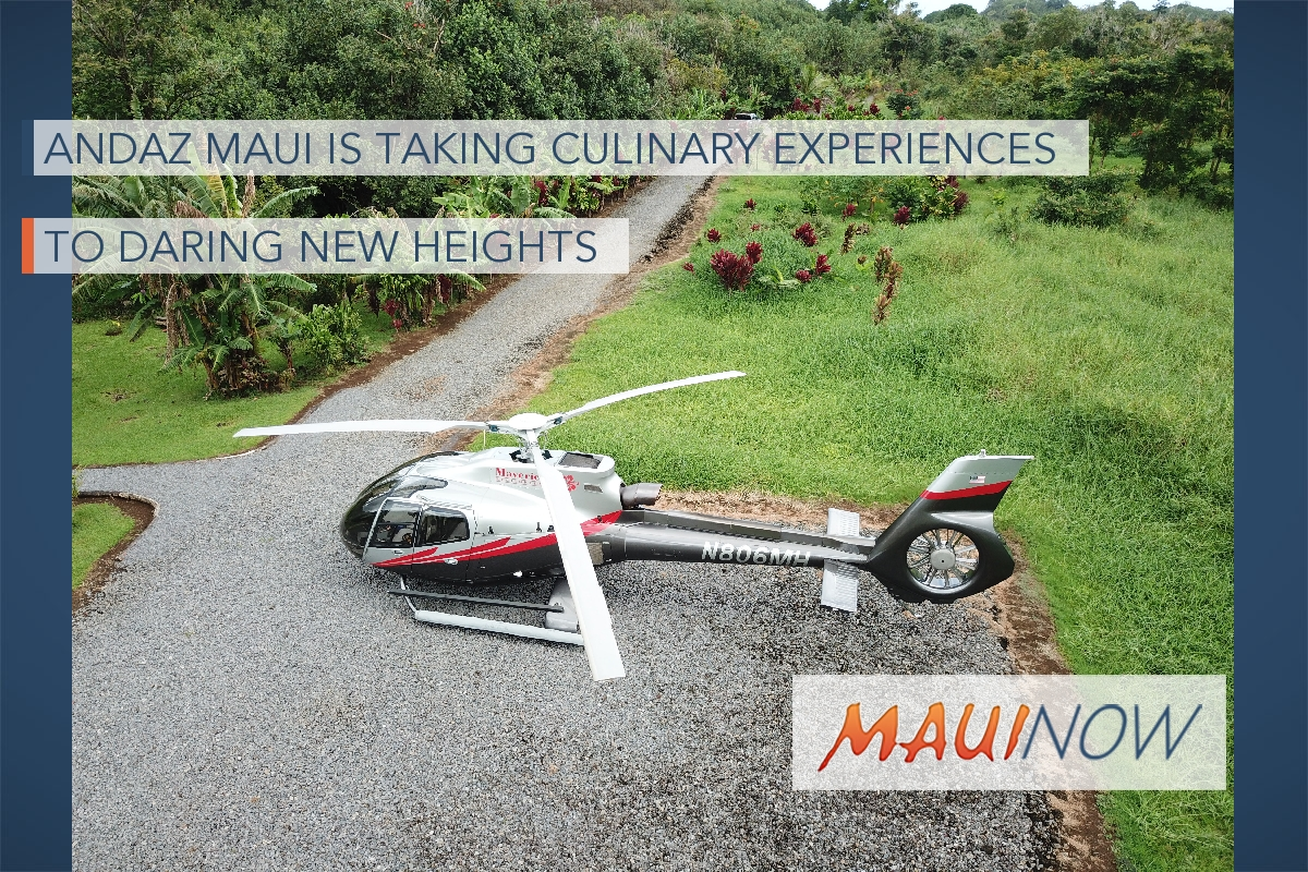 Andaz Maui is Taking Culinary Experiences to Daring New Heights
