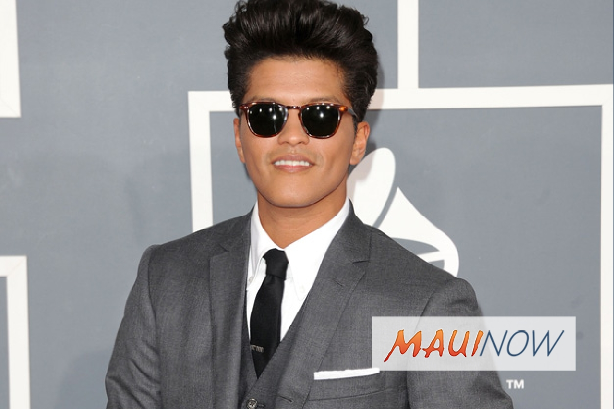 More Bruno Mars Ticket Go on Sale Oct. 19