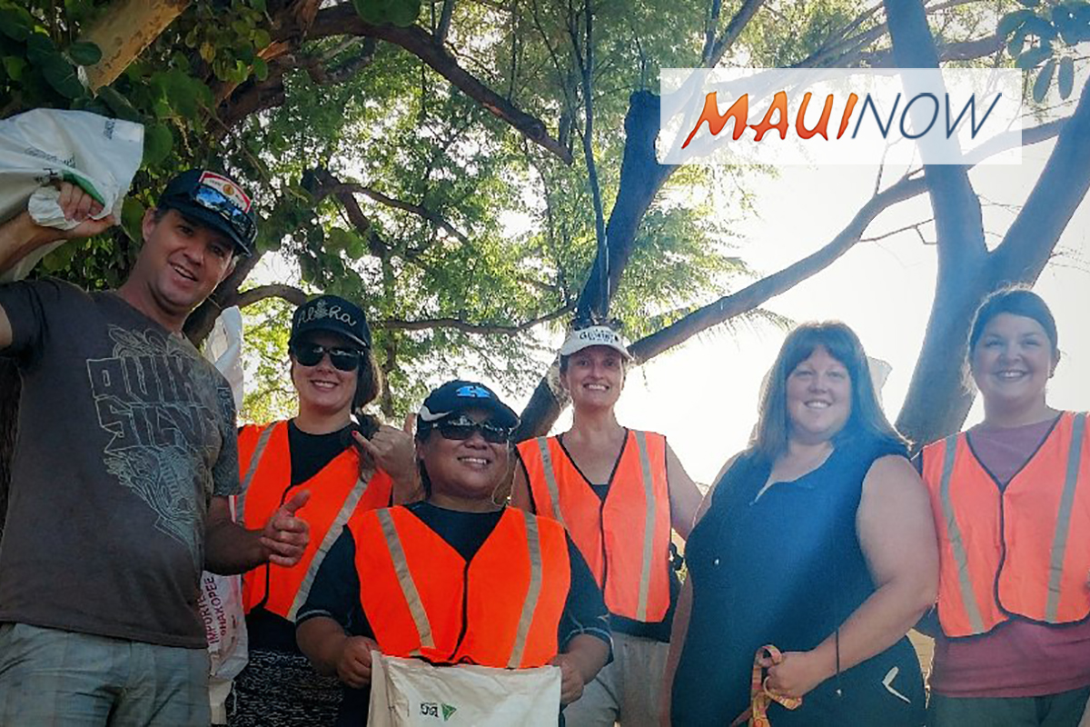 200 Pounds of Trash Removed During Maui Wedding Association Cleanup