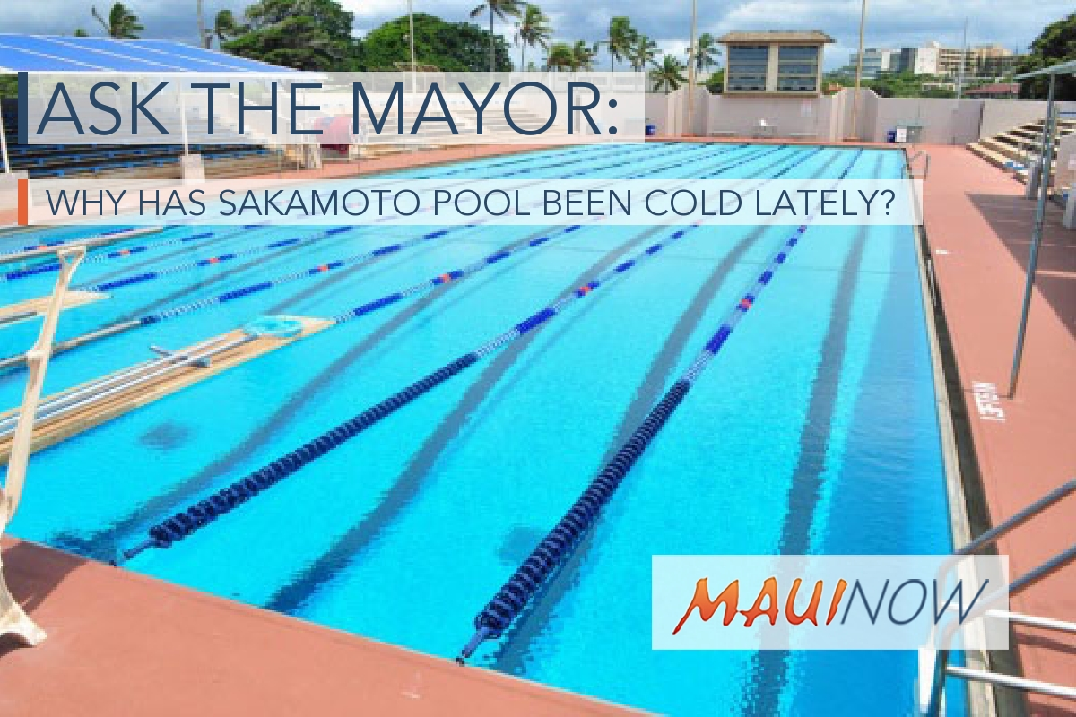 Ask the Mayor: Why has Sakamoto Pool been Cold Lately?