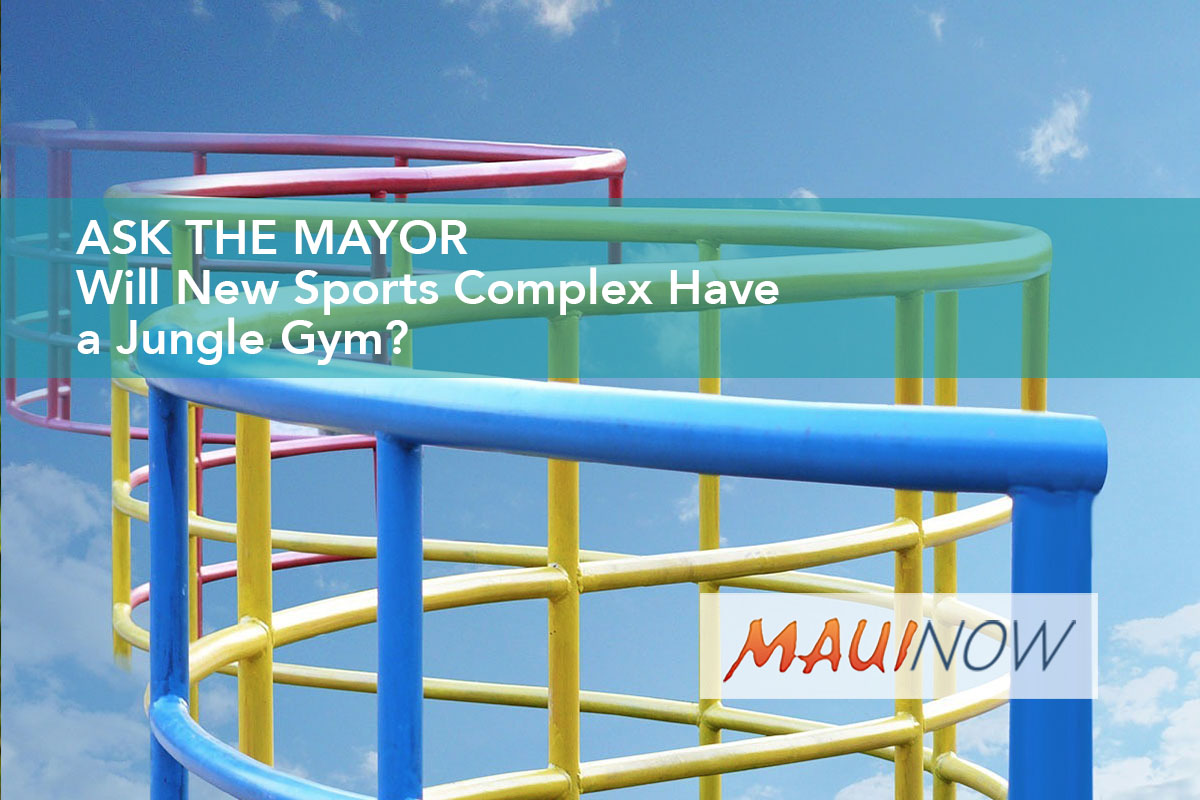 Ask the Mayor: Will New Sports Complex Have a Jungle Gym?