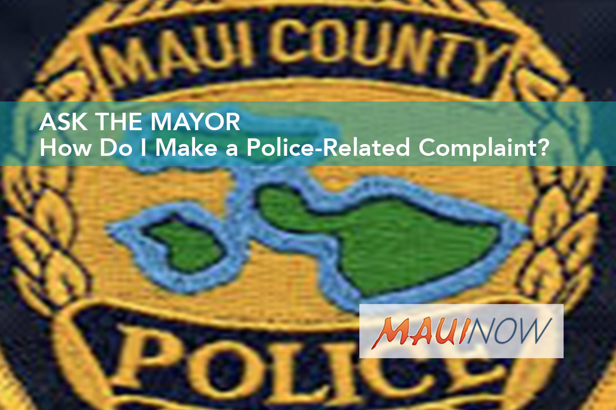 Ask the Mayor: How Do I Make a Police-Related Complaint?