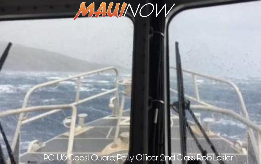 Missing Kayaker Rescued by Coast Guard off Maui