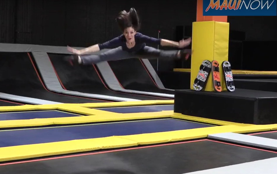 VIDEO: Maui's First Trampoline Park Opens!