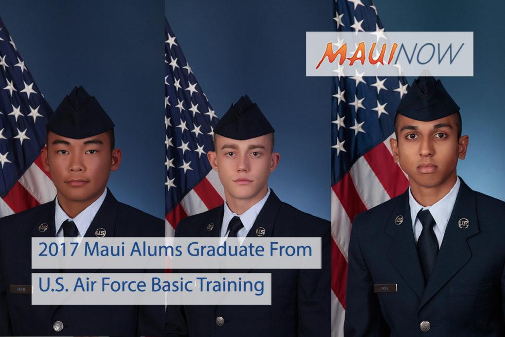 Maui Now : 2017 Maui Alums Graduate From U S  Air Force