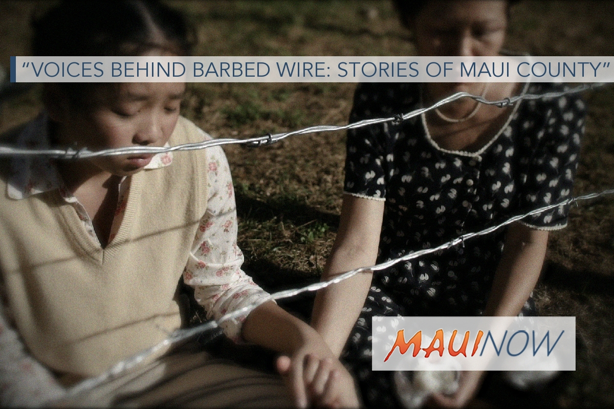 """Voices Behind Barbed Wire"" Documentary at NVMC, Feb. 10"