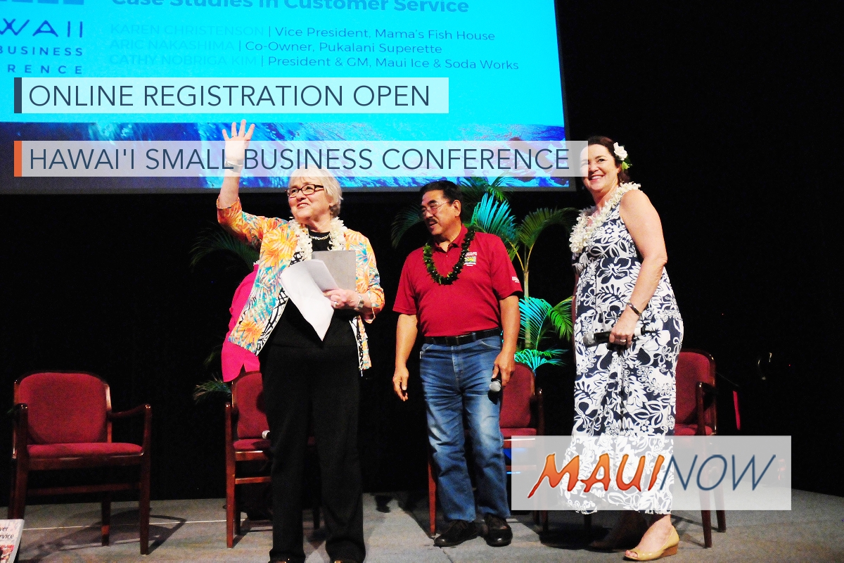Online Registration Open for Hawaiʻi Small Business Conference