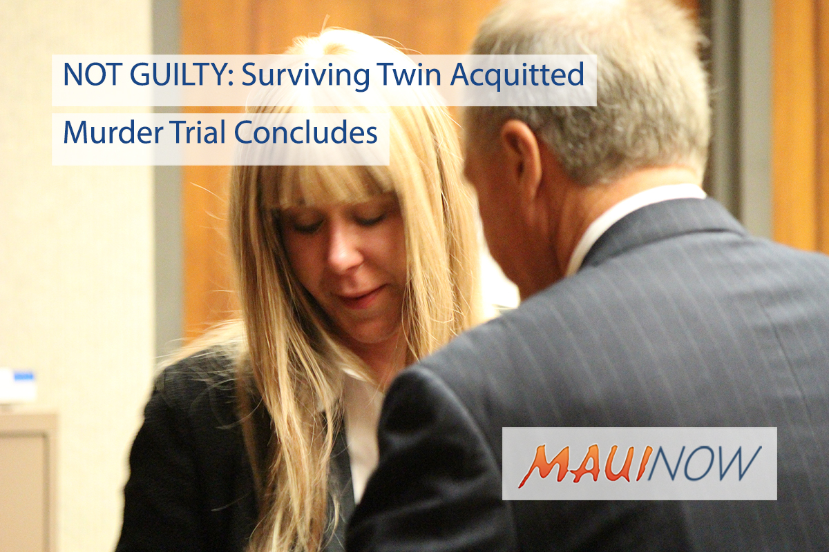 NOT GUILTY: Duval Acquitted of Murder in Case Involving Death of Twin