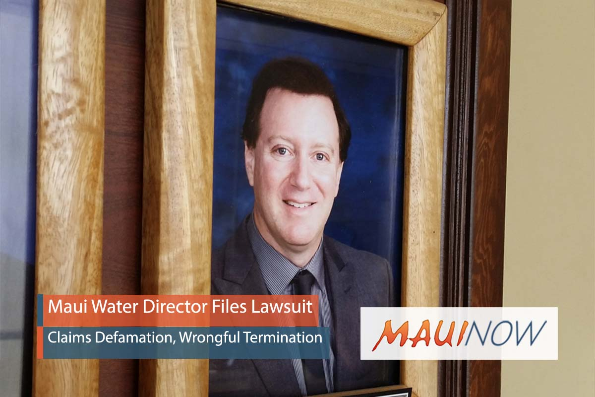 Maui Water Director Files Lawsuit Against Mayor, County