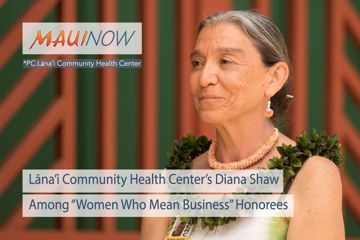 Lāna'i Community Health Center Executive Distinguished Business Honoree